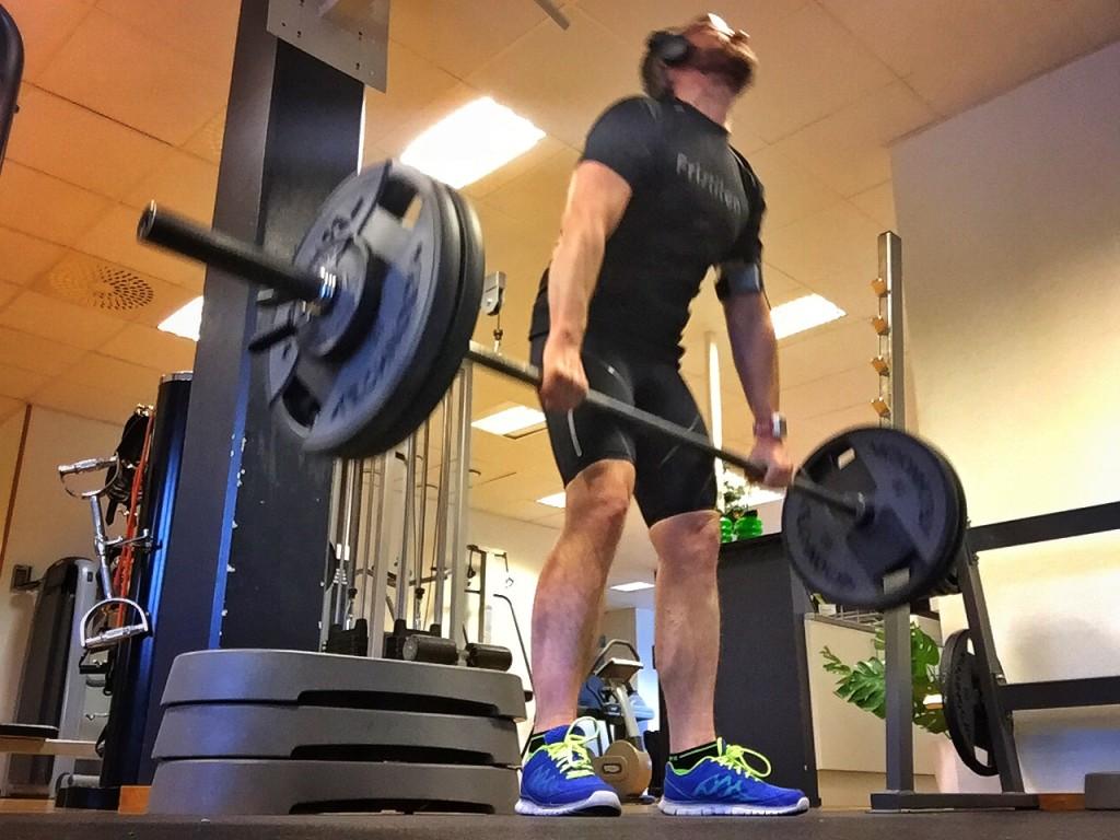 Marklyft 105 kg