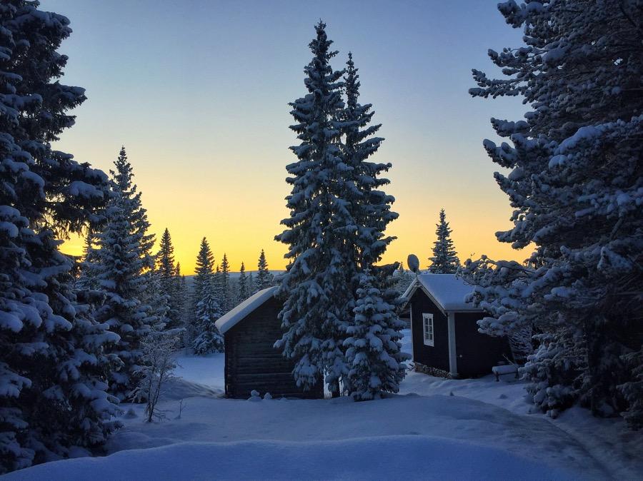 snö storhogna vemdalen jul nyår vinter