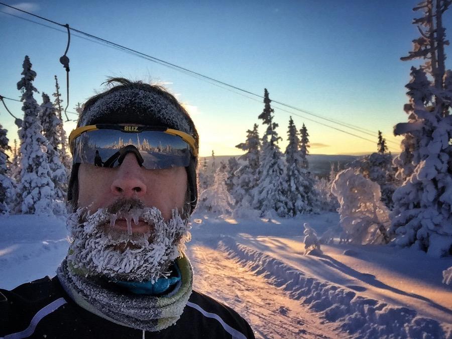 skidor skägg vemdalen stoghogna vinter snö craft bliz