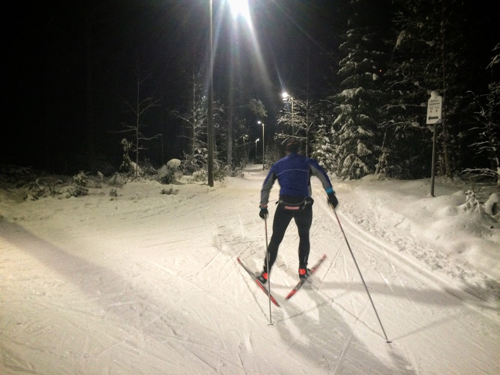 skidor craft winter snow