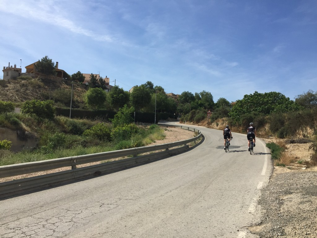 spanien cykling längtar