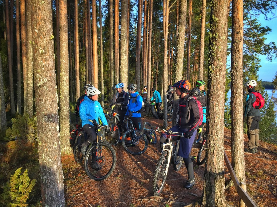 Mountainbike i Jämtland