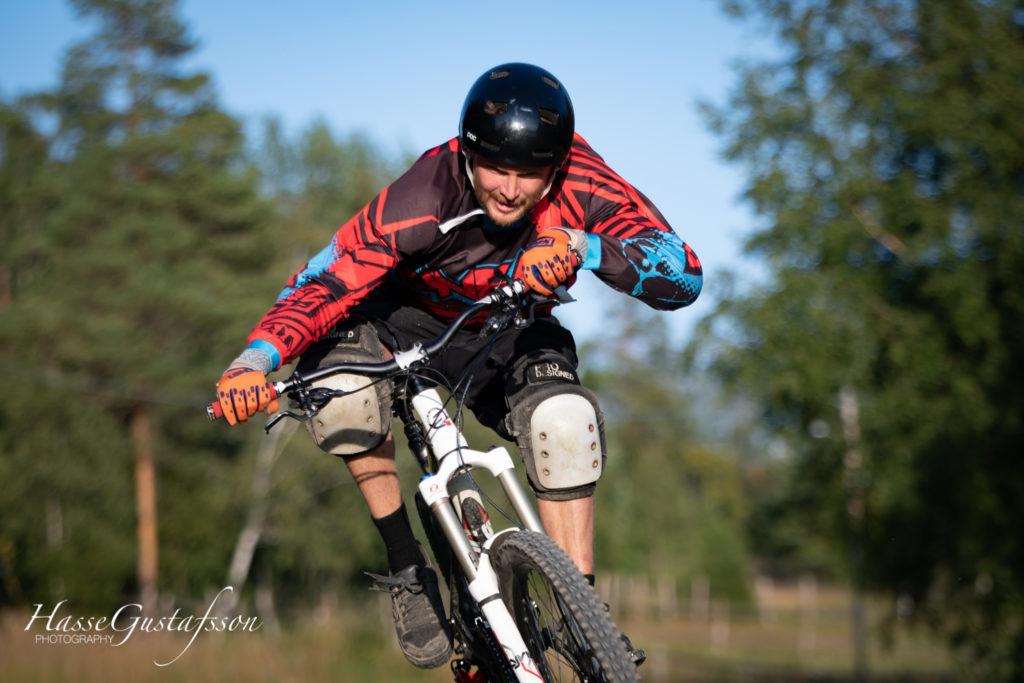 Mountainbike cyklist